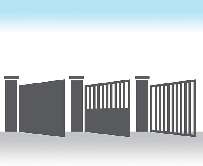 Avidsen – Motorización automática para Portal de 2 Puertas y Puertas (Madera, Hierro, Aluminio o PVC) Orane 400 – para Puerta Completa, ventilada o ...