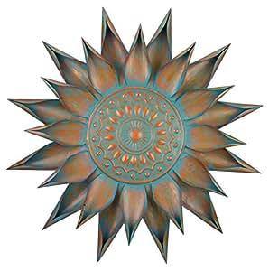 Regal Art & Gift Patina Bloom Wall Decor, 34-Inch