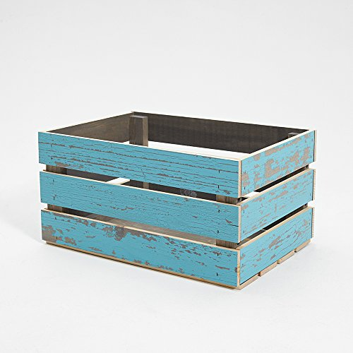 - Timeline 963 Wood Crate, Blue