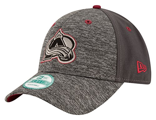 NHL Colorado Avalanche Men's The League Shadow 9FORTY Adjustable Cap, One Size, (Nhl New Era Caps)
