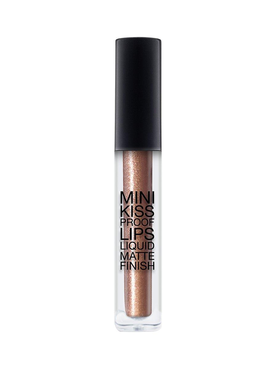 Mini Kiss Proof Lips - Liquid Matte Finish - Brown Sugar