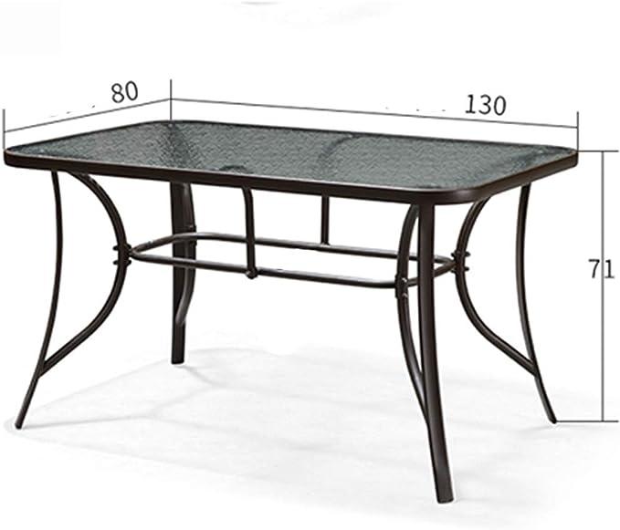 mesa plegable Necesidades diarias Terraza jardín Ocio Mesa Redonda ...