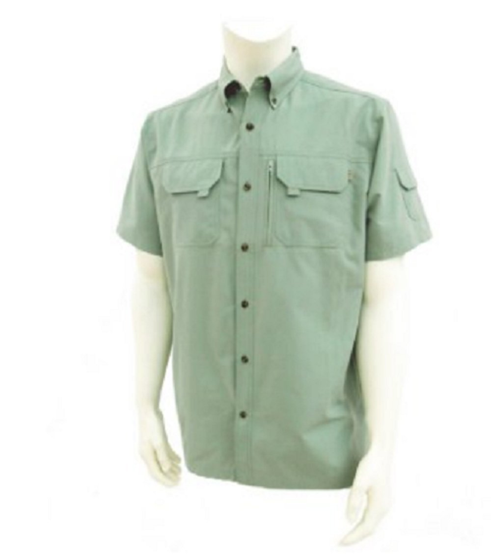 Field & Stream Mens Outfitter Universal Travel Shirt, Medium, Mint by Field & Stream
