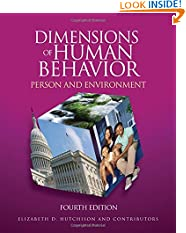 Dimensions of Human Behavior: Person and Environment, 4th Edition (Paperback)
