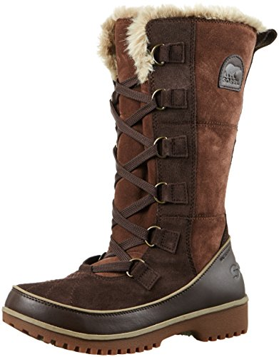 SOREL Women's Tivoli High II Boot Tobacco/Flax 8 -