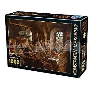 D Toys Puzzle 75680ma 01 1000 Pezzi Konstantin Makovsky A Boyar Wedding Feast