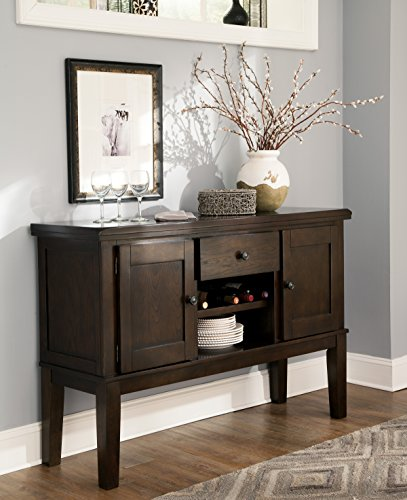 Handigan Casual Dark Brown Color Dining Room Server For Sale