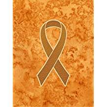 Caroline's Treasures AN1204GF Orange Ribbon for Leukemia Awareness Flag, Small, Multicolor
