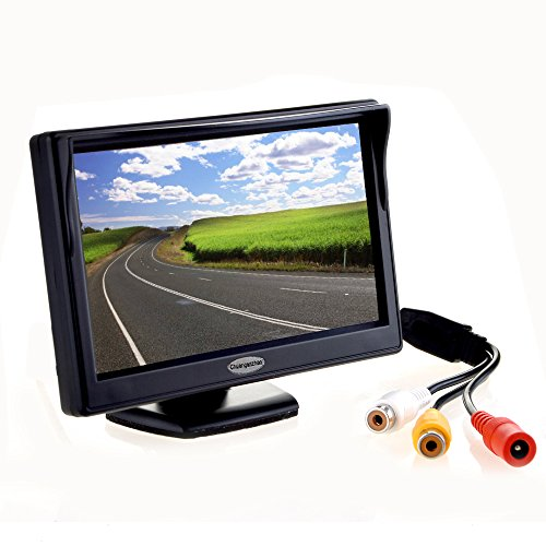 "5"" Inch Digital TFT LCD Color Car Rear View Monitor Screen for Parking Backup Camera ,Support all the car with 12V/24V Power,High Definition 800(RGB)X480 (Color Digital Tft Lcd)"