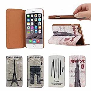 ZXC Vintage Business Genuine Leather Full Body Case for iPhone 6 Plus (Assorted Colors) , 3