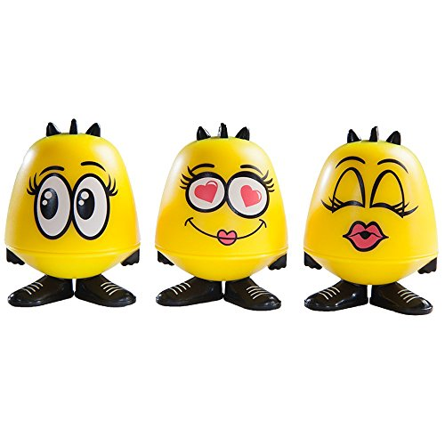 Emoji Goof Balms - Natural Kids Lip Balm + Moisturizing & Repair + Helps Prevent Cracked Lips + Strawberry Sorbet Chapstick + Fun Party Supplies + (6 Pack) by Goof Balms (Image #7)