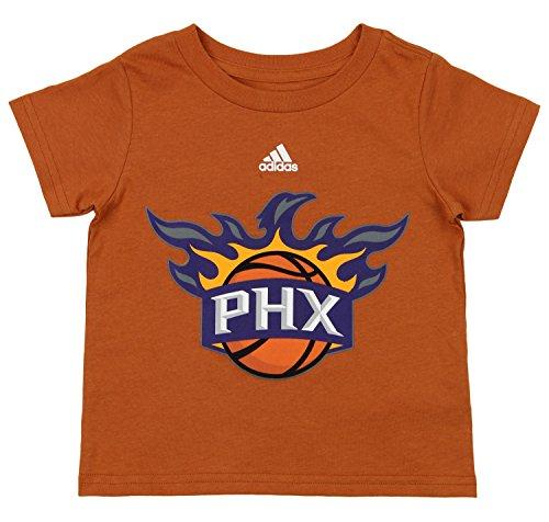 - adidas NBA Toddler's Phoenix Suns Short Sleeve Primary Logo Tee, Orange 4T