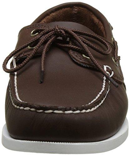 Timberland Cedar Bay Boat Shoe, Náuticos Para Hombre Marrón (Chocolate Galloper Full Grain D47)