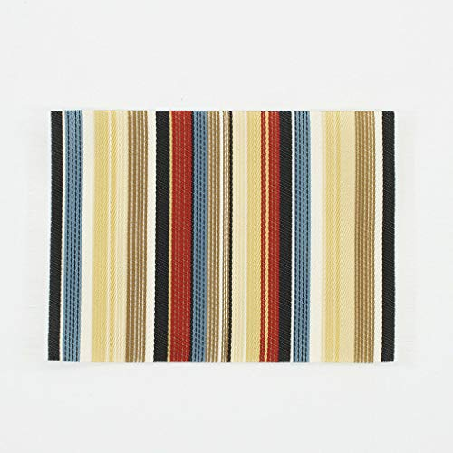 - NATFUR 1:12th Rectangle Striped Rug Dollhouse Carpet Floor Coverings Miniatures