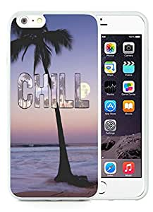 Fashion iPhone 6 Plus Case,Chill White iPhone 6S Plus 5.5 inches Screen TPU Cover Case Luxury and Cool Design