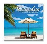 16 Month Wall Calendar 2018 - Beaches - Each Month Displays Full-Color Photograph. September 2017 - December 2018 Planning Calendar