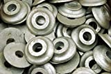 (10) Galvanized 5/8 Ogee Washers Structural Lag Screw Bolt 2-3/4'' OD