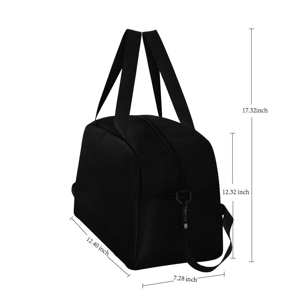 InterestPrint Zodiac Leo Galaxy Lion Duffel Bag Travel Tote Bag Handbag Luggage by InterestPrint (Image #7)