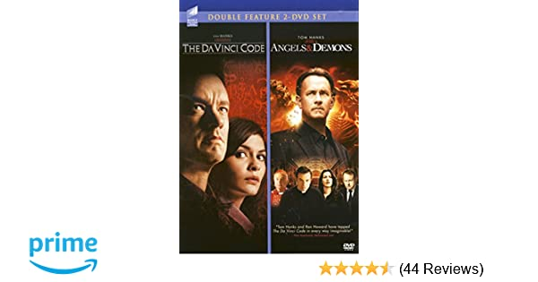 Amazon The DaVinci Code Angels Demons Double Feature 2
