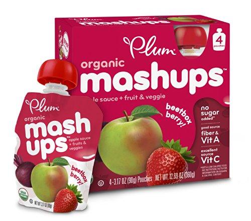 Plum Organic Veggie Mashups Beetbox product image