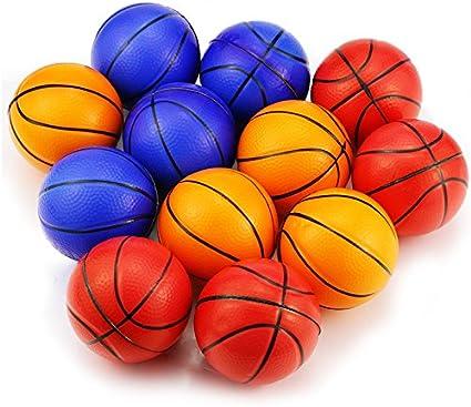 Mseeur Mini Sports Stress Balls Soccer Balls Fun 12-pack