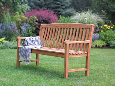 Living Accents 5 Ft Outdoor Teak Wood Bench