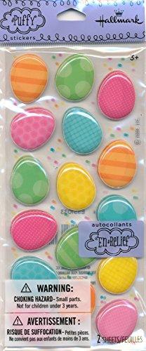 Hallmark Easter Egg Puffy Stickers (Hallmark Stickers)
