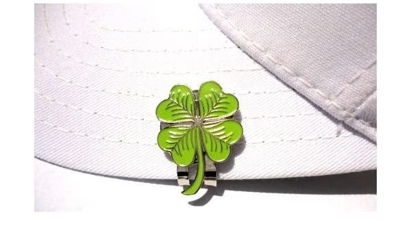 Amazon.com   Four Leaf Shamrock Golf Ball Marker and Magnetic Hat Clip    Sports   Outdoors 2aa8f0fece27