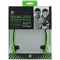 Xit AXTBTHSJGR Audio Sound Jock Sports Bluetooth Stereo Headphone, Green