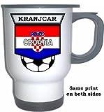 Niko Kranjcar (Croatia) Soccer White Stainless Steel Mug