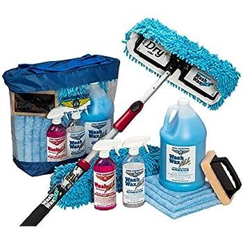 Amazon Com Aero Cosmetics Waterless Rv Aircraft Boat Wash Wax Mop Kit