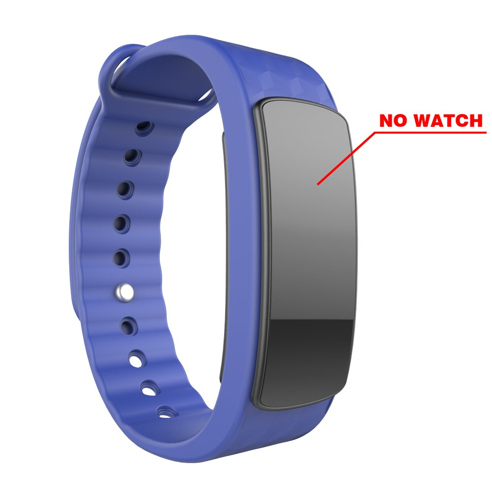 AUPALLA Replacement Style Wrist Band for LINTELEK Alisten iwown I3 I3HR Fitness Tracker Smart Band Blue