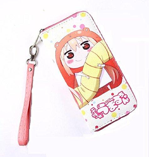 Doma Leather - Siawasey Anime Cosplay Cartoon PU Leather Purse Case Bifold Wallet (Doma Umaru)