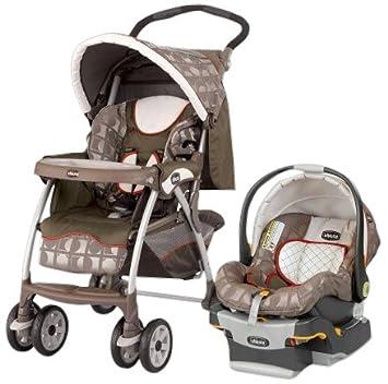 Amazon.com : Chicco Cortina Travel System - Luna : Infant Car Seat ...