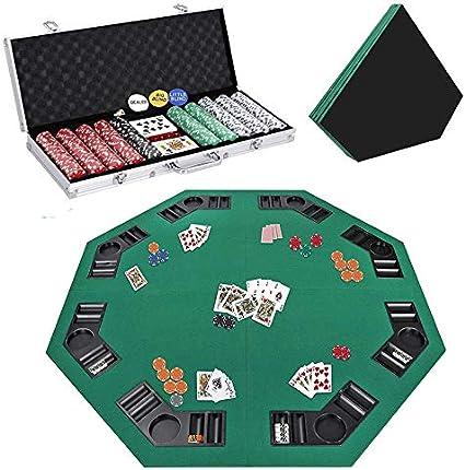 Amazon Com Smartxchoices 48 Poker Table Top 500 Poker Chip