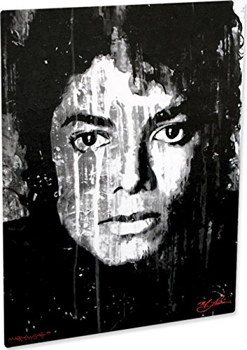 mj abstract poster