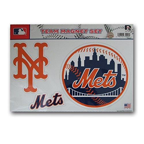 Rico MLB New York Mets Team Magnet Set