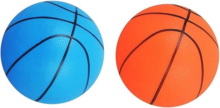 Homyl 2pcs Juegos de Aire Libre Deportivo Mini Baloncesto Pelota ...