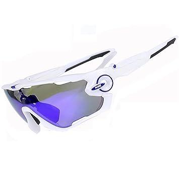 X-TIGER PHMAX Ciclismo Gafas de Sol polarizadas 100% UVA UVB protección Ocular Gafas