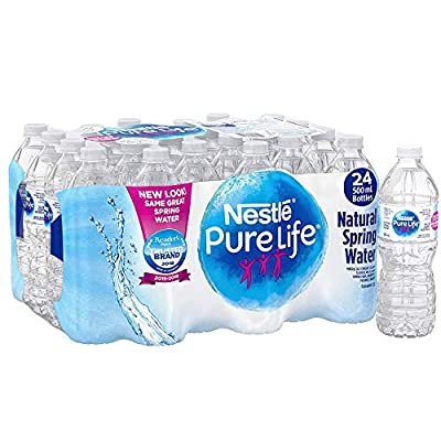 Nestle Pure Life 100% Natural Spring Water, 500ml
