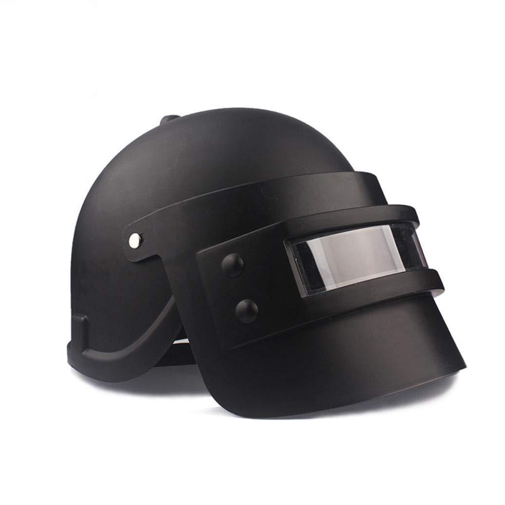 Simulation Battlegrounds Level 3 Helmet Cap Props(25.5x 19x 16cm),123Loop Game Cosplay Mask Battlegrounds Level 3 Helmet Cap Props by 123Loop (Image #6)