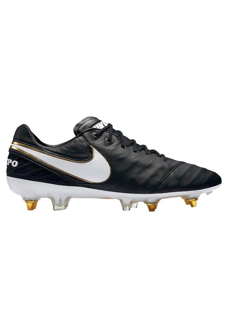 Nike Mens Tiempo Legend VI SG-Pro Soccer Cleat (Sz. 8) Black