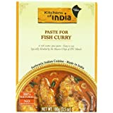 Kitchens Of India Curry Paste For Fish Curry, 3.5-Ounce Boxes (Pack of 6) by Kitchens Of India