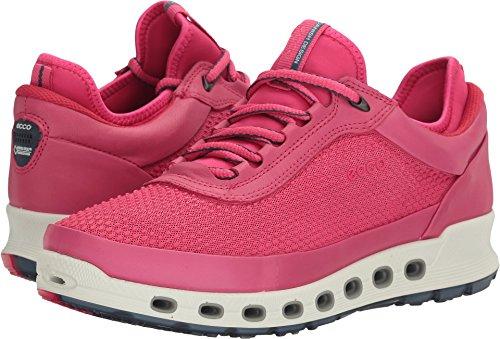 ECCO Women's Cool 2.0 Gore-Tex Textile Fashion Sneaker, Beetroot, 41 EU/10-10.5 M US