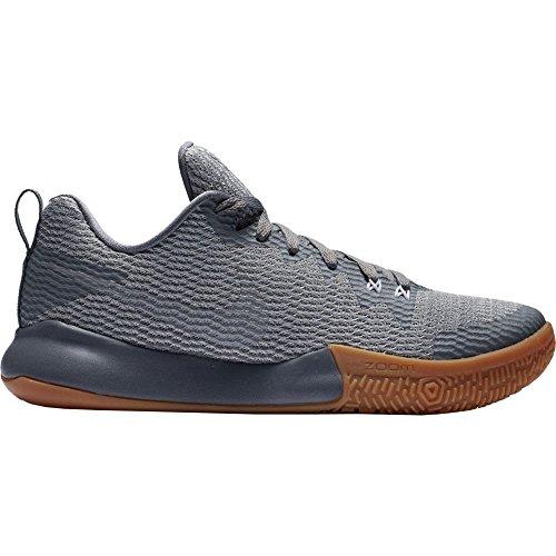 ピュー幽霊非行(ナイキ) Nike メンズ バスケットボール シューズ?靴 Nike Zoom Live II Basketball Shoes [並行輸入品]