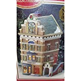 1995 Dickens Collectables Towne Series ''Chemist'' Porcelain Lighted House