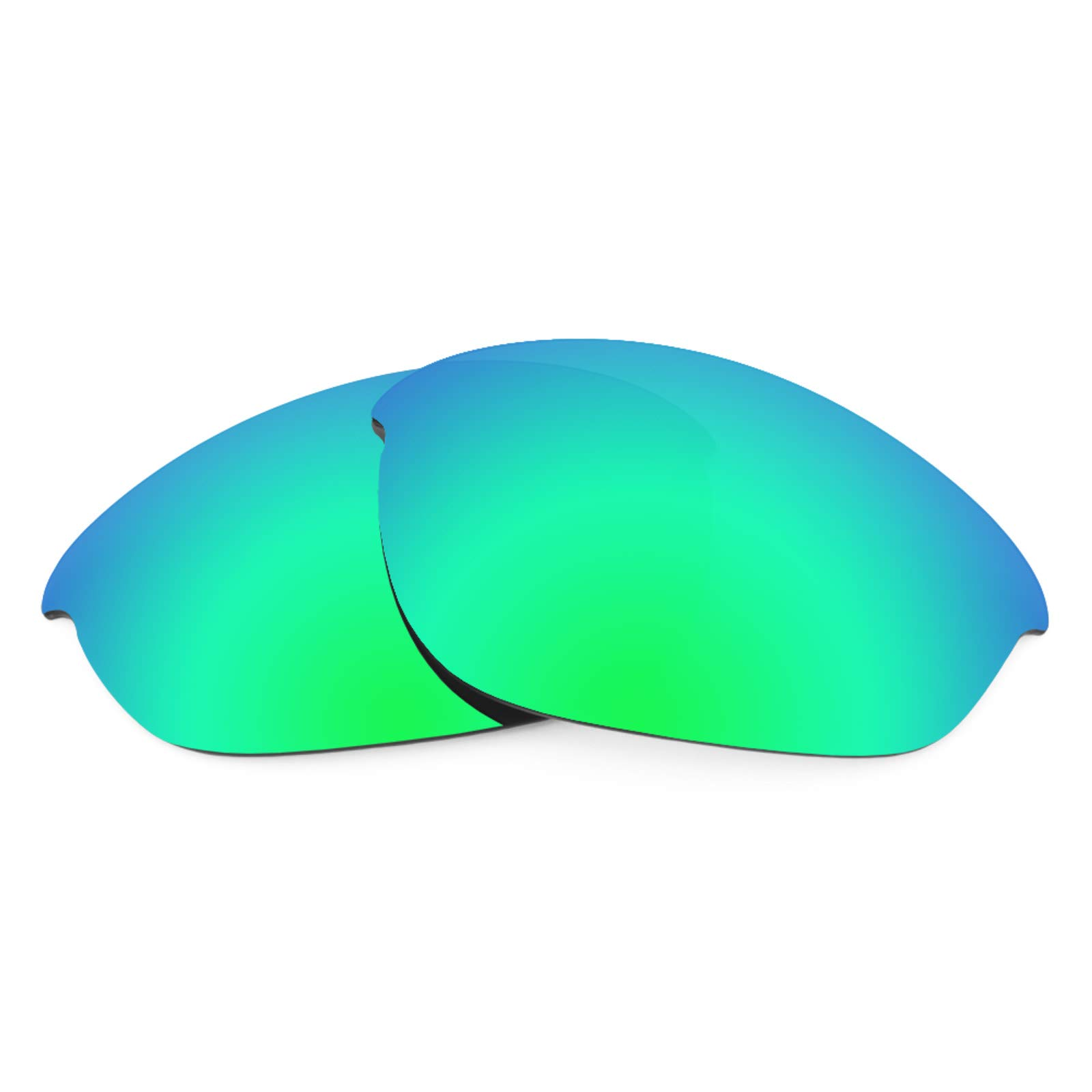 Revant Replacement Lenses for Oakley Half Jacket (Asian Fit), Polarized, Emerald Green MirrorShield