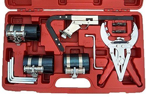New Engine Piston Ring Service Compressor Tool Set Kit Auto Truck Cleaning Service (Services Engine)