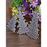 Fheaven Metal Christmas Trees Shaped Die Cutting Dies Stencil For DIY Scrapbooking Album Paper Card Decor Craft Gift