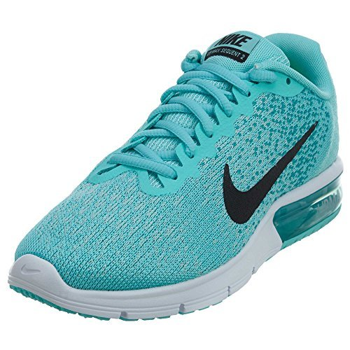 newest 9f1af bbfcc Galleon - Nike Women s Air Max Sequent 2 Running Shoes (9.5 B(M) US, Aurora  Green Black-turbo Green-igloo)